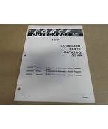 1987 Forza Fuoribordo Parti Catalogo 35 hp sia 4098 OEM Barca 87 - $6.95