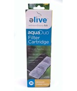 Elive AquaDuo Filter Cartridges Medium 3 Pack Use In Aqua Duo 10 & 20 Fi... - $9.99