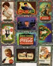 1995 Collect-A-Card COCA-COLA Super Premium trading card set of 60 Complete - $7.70