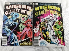Vision And The Scarlet Witch Comic  Books #1 #2 1982 Marvel - $12.00