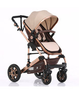 Luxury Baby Stroller Folding Baby Carriage High Landscape Sit and Lie Pr... - $276.75