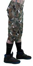 LRG Men's Khaki Wolf Camouflage Unnatural Palette Cargo Walk Shorts 28 image 4