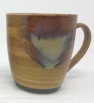Sango Splash Brown Drip Glazed Mug Cup Coffee 4951 Stoneware - $8.90