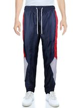 LR Men's Retro Urban Lightweight Athletic Casual Striped Gym Track Sweat Pants image 5