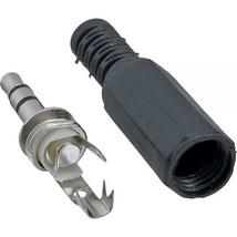 INLINE JACK 3 Pole Cinch Jack 3,5mm Stereo lötversion Black Solder 99100 - $3.31