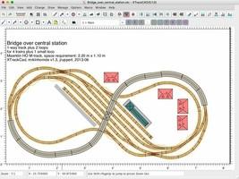 XTrkCAD Model RR Track Planner Model Railway CAD program On A Fast! 3.0 USB - $4.99+