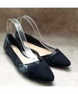 Apt 9 Womens   Sz 8.5 M Black  Slip On Ballet Flats - $24.99