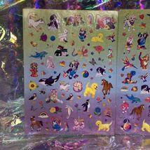 Lisa Frank Sticker Sheet Set Bottom 1/2 Of S1066 Complete Giant Mods image 3