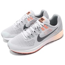 Nike 904701-008 Air Zoom Structure 21 Wolf Grey Women Running Shoes Snea... - $52.79