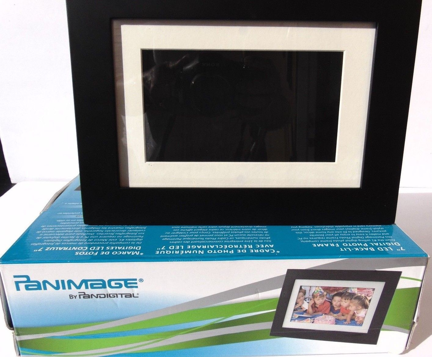 Pandigital 7 Digital Picture Frame and 50 similar items
