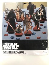 Star Wars 8 Table Decor Character Standees Disney Birthday Confetti Part... - $9.50
