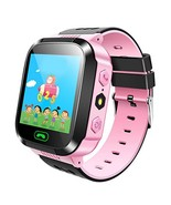 Kids Smart Watch GPS Tracker Anti Lost Wrist Watch With Camera Flashligh... - $34.98
