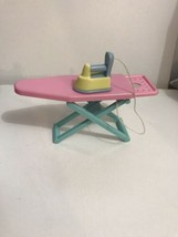 Vintage Hasbro Playskool Iron & Ironing Board for Victorian Dollhouse RARE - $16.78