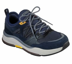 Men's Skechers RLX FIT Benago Flinton Casual Shoes, 210022 /NVY Multi Si... - $69.95