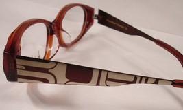 Nicole Miller Standout Coco Brown Women New Eyeglasses Eyewear Frames Glasses - $38.60