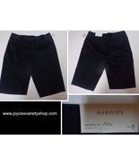 Harold's Alex Shorts Favorite Fit Below Waist NWT Black Women's SZ 8 - $19.99