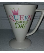 Queen for the Day Cone Shaped Coffee Mug Hallmark - $16.23