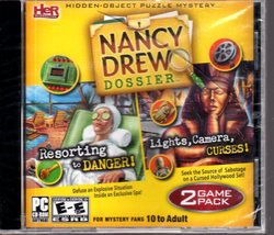 Nancy Drew Dossier 2 Game Pack CD-ROM for Windows (New) PC software - $6.00