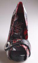 Iron Fist Oh No Charcoal Open Peep Toe High Heels Platform Shoes IFL0072 NIB image 5