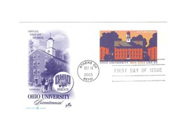 PICTURE POSTCARD- OHIO UNIVERSITY BICENTENNIAL- FIRST DAY ISSUE BK9 - $1.23