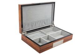 Decorebay high glossy Cufflink Case & Ring Storage Organizer Men's Jewel... - €47,85 EUR