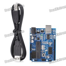 Duemilanove 2009 AVRmega328P-PU with USB Cable for Arduino - $16.95