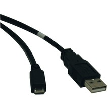 Tripp Lite U050-010 USB 2.0 A-Male to Micro B-Male Cable (10ft) - $23.01
