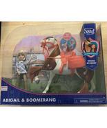 DreamWorks Spirit Riding Free Collector Doll & Horse Abigail & Boomerang - $19.39