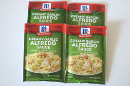 McCormick Creamy Garlic Alfredo Sauce Mix 1.25 oz Best By 05/2022 Lot of 4 - $25.00