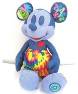 Disney Mickey Mouse Memories Plush June NEW Tie Dye Peace Love Limited E... - $73.25