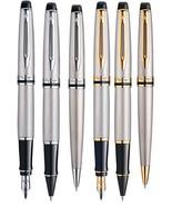 Waterman Paris Expert Stainless Steel GT / Stainless Steel CT Pens Choos... - $70.45+