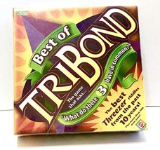 BEST of TRIBOND Board Game Educational Classroom Mattel G6848 NEW Factor... - $15.10