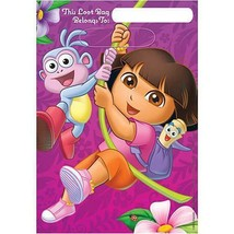 Dora Flower Adventure Plastic Favor Treat Loot Bags Birthday Party Supplies - $3.47