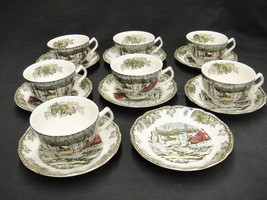Johnson Bros Friendly Village Lot of 7 Cups and... - $44.54