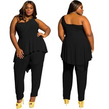 Womens New Sexy Fashion Plus Size Slim Fit Jumpsuit - $28.56