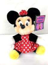 Disneyland Walt Disney World Collectible Minnie Mouse Stuffed Animal - $24.00