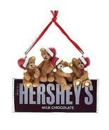 Hershey's™ Bears On Hershey Chocolate Bar Ornament w - $13.99