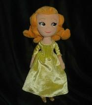"12 ""disney parks sofia the first sister amber cloth doll stuffed animal - $23.01"