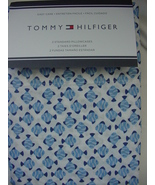 Tommy Hilfiger Blue Fish on White Pillowcases Standard - $20.00