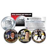 2005-06 SIDNEY CROSBY Royal Canadian Mint Medallions NHL Rookie 3-Coin F... - €13,18 EUR