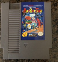 Nintendo BurgerTime NES Video Game, Cartridge Only, Tested 1985 - $12.34