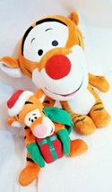 RARE DISNEY Tigger winnie the pooh plush toy xmas gift + Big head tiger ... - $29.39