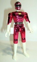Vintage 1997 Bandai Power Ranger Turbo Metallic Red Action Figure - $12.95
