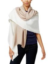Calvin Klein Women's Dip Dye Logo Scarf (Latte, One Size) - $36.57