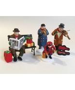 Heritage Village Collection 4 Pc Rest Ye Merry Gentleman Street Musician... - $50.00