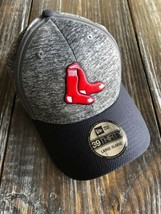 Boston Red Sox MLB New Era Clubhouse Flex Cap Gray Heathered 39Thirty La... - $29.70