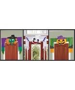 """HUGE 48"""" Halloween Doorway Decorations Witch Pumpkin Ghost Home Decor - $21.99"""