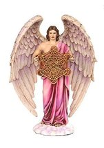 10 Inch Metatron Angel Orthodox Religious Resin Statue Figurine - $44.55