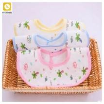 Baby Bibs Cotton Newborn Bibs For Girls Boys Infant Burp Towel Baby Eati... - $3.96