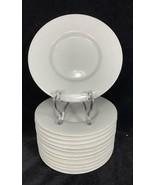 "Set of 12 BLOCK SPAL LISBOA White Porcelain Tableware 6""  Saucers Plate - $49.49"